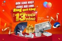 Quà tặng cực sock tới 13 triệu mừng sinh nhật Hải Linh