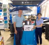 Sôi động không khí mua sắm nhận quà tại Hải Linh nhân kỷ niệm sinh nhật 13