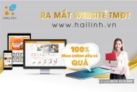 """""""Cứ mua online là nhận quà"""" - khuyến mại mừng ra mắt website Hailinh.vn"""