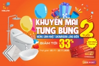 [Sốc] giảm giá lên đến 33% - Mừng sinh nhật Showroom Long Biên tròn 2 tuổi