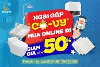 Bạn ngại COVID, Mua sắm Online tại Hải Linh giảm tới 50%