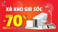 Xả kho - Không lo về giá - Ưu đãi lên tới 70% chỉ có tại Hải Linh