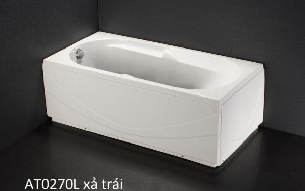 Bồn Tắm Chân Yếm Caesar AT0270L/R