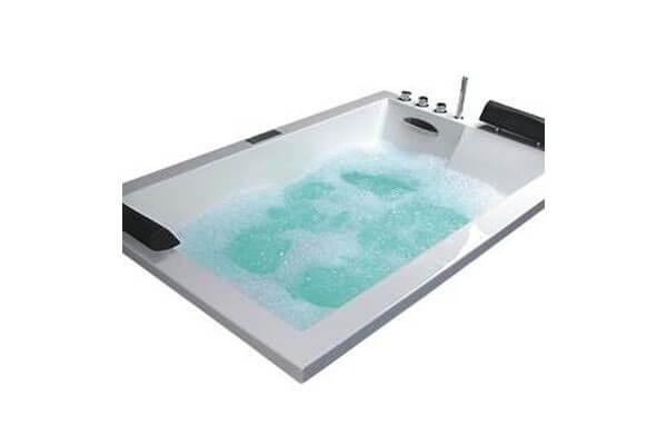 Bồn tắm đôi massage Caesar MT7180L/RCH