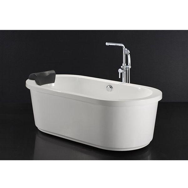 Bồn tắm nằm Caesar có chân có yếm AT6170