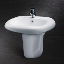 Chậu rửa chân lửng Caesar L2560 + P2441