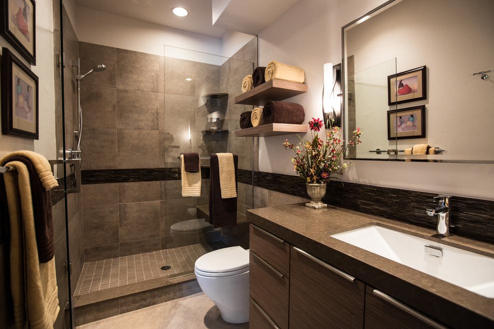 Phòng tắm với những thiết bị vệ sinh Caesar tiết kiệm nước