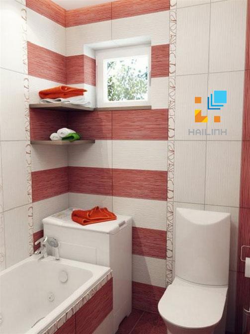 Phòng tắm với thiết bị vệ sinh Caesar cao cấp